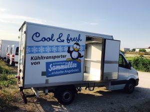 Kühltransporter mieten